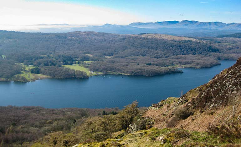 Gummer's How in the Lake District